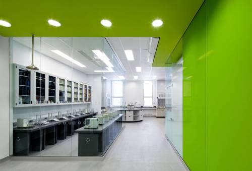 R novation des laboratoires d 39 enseignement en chimie de l for Design interieur universite
